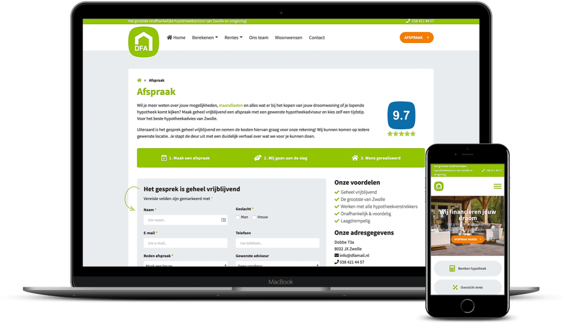 Website laten maken in Zwolle
