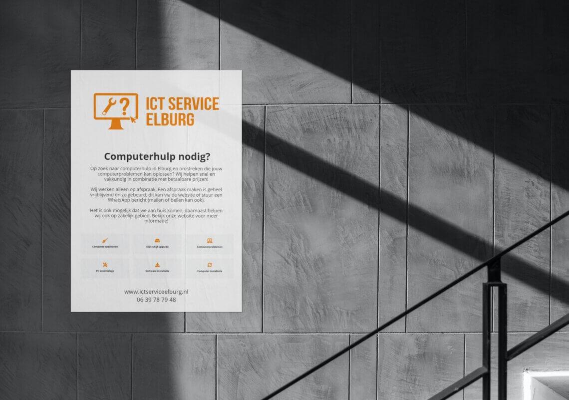 Huisstijl voor ICT Service Elburg