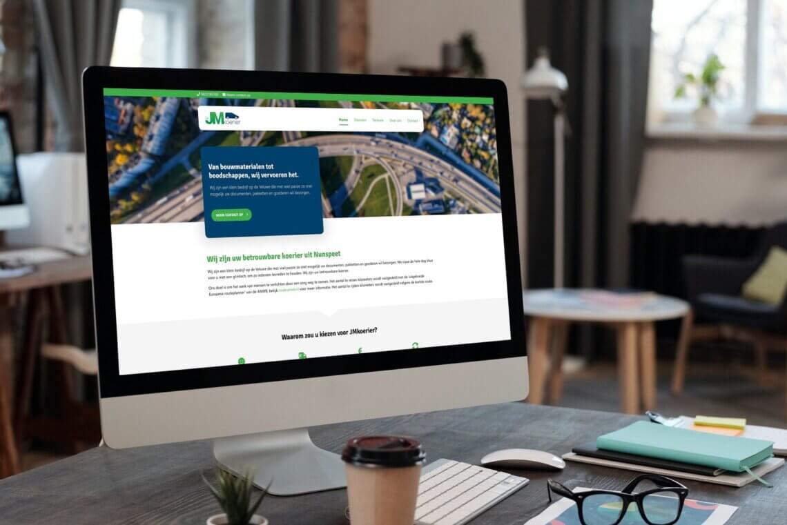 JMkoerier nieuwe website